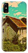 Little House - The World Around New York City IPhone Case