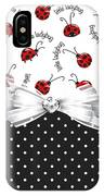 Little Ladybugs IPhone Case