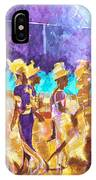 Little League Victory - Game End IPhone Case