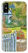 Little Newton Cottage IPhone Case