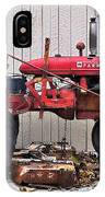 Little Red Farmall IPhone Case