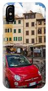 Little Red Fiat IPhone Case