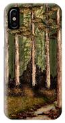 Little Stream In The Deep Woods II IPhone Case