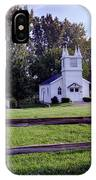 Little Village Chapel Of The Immanuel Lutheran Church IPhone Case