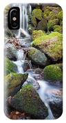 Little Waterfall In Marlay Park IPhone Case
