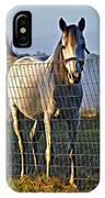 Little White Pony IPhone Case