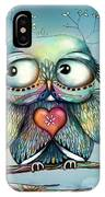 Little Wood Owl IPhone X Case