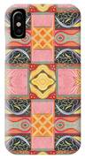 Living In The Pink 2 - Tjod X V I Arrangement IPhone Case
