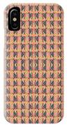 Living In The Pink - Tile Arrangement 1 IPhone Case