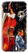 Living Jazz IPhone Case