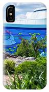 Living Seas Signage Walt Disney World IPhone Case