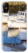 Lobster Boats - Perkins Cove -maine IPhone Case