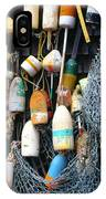 Lobster Buoys Fishermans Shed IPhone Case