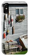 Lobster Pots And Buoys IPhone Case