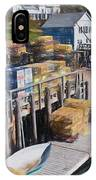 Lobster Traps At New Harbor IPhone Case