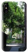 Locke Chinatown Series - Alley With Trees - 5 IPhone Case