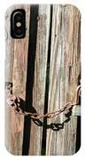 Locked Wood IPhone Case
