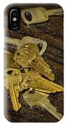 Locksmith - Rejected Keys IPhone Case