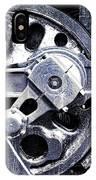 Locomotive Drive Wheels IPhone Case
