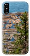Log Boom IPhone Case
