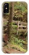Log Bridge In The Rainforest IPhone Case