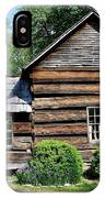 Log House IPhone Case