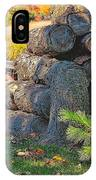 Log Pile IPhone X Case