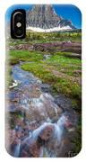 Logan Pass Creek IPhone Case
