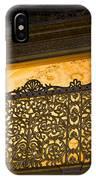 Loge Of The Sultan In Hagia Sophia  IPhone Case