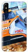 Lola Aston Martin Lmp1 Racing Le Mans Series 2009 IPhone Case