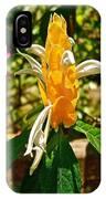 Lollipop Flower In Quepos-costa Rica IPhone Case