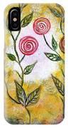 Lollipop Flowers IPhone Case