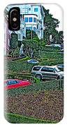 Lombard Street In San Francisco-california  IPhone Case