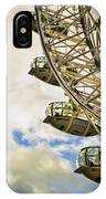 London Eye View IPhone Case