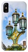 London Lamp Post IPhone Case