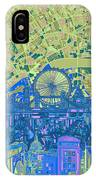 London Skyline Abstract 8 IPhone Case