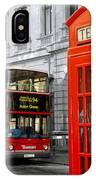 London With A Touch Of Colour IPhone Case