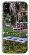 Lone Bench IPhone Case