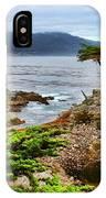 Lone Cypress By Diana Sainz IPhone Case