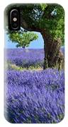 Lone Tree In Lavender IPhone Case