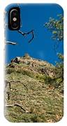Lone Tree On The Mountain IPhone Case