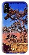 Lone Tree South Rim Poster IPhone Case