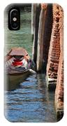 Lonely Boat In Venice IPhone Case