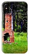 Lonely Fireplace IPhone Case