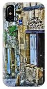 Lonely Lane In Sarlat France IPhone Case