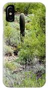 Lonely Little Saguaro IPhone Case
