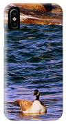 Lonely Swimmer IPhone Case