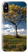 Lonely Tree In Mountain IPhone Case