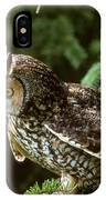 Long-eared Owl IPhone Case