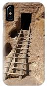 Long House Front Door Bandelier National Monument IPhone Case